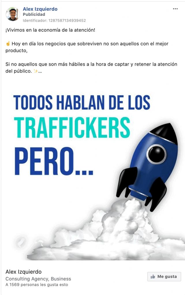 Llamadas a la acción para Faceboko
